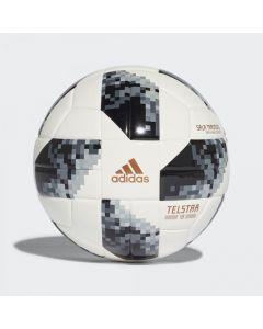 ADIDAS nogometna žoga-mali nogomet WORLD CUP SLTRN  WHITE/BLACK