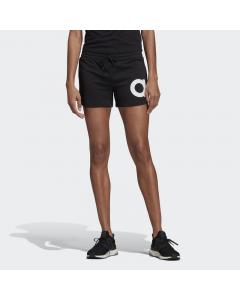 ADIDAS ženske kratke hlače W E BRAND SHORT BLACK/WHITE