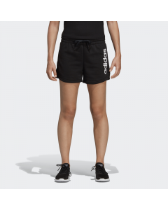 ADIDAS ženske kratke hlače W E LIN SHORT  BLACK/WHITE