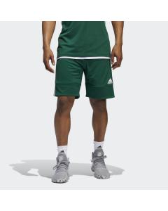 ADIDAS kratke hlače-dres 3G SPEED REVERSIBLE SHORT DARK GREEN/WHITE