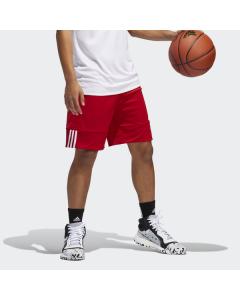 ADIDAS kratke hlače-dres3G SPEED REVERSIBLE SHORT POWER RED/WHITE
