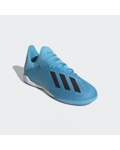 ADIDAS moška nogometna obutev X 19.3 IN BRCYAN/CBLACK/SHOPNK