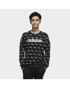 ADIDAS moški pulover M FAV TS SW BLACK/WHITE