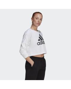 ADIDAS ženska kratka majica W LEO G SWT  WHITE