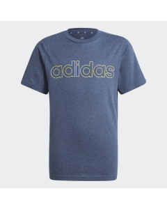 ADIDAS otroška kratka majica B LIN T   CRNAME/ACIYEL