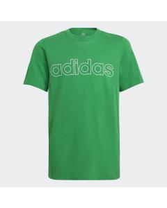 ADIDAS otroška kratka majica B LIN T   GREEN/WHITE