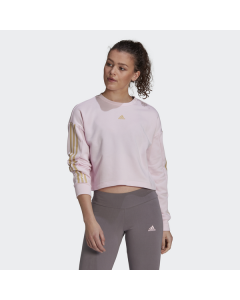 ADIDAS ženski pulover W UFORU SWT  CLPINK/HAZBEI