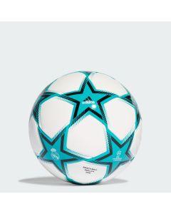 ADIDAS nogometa žoga UCL RM MINI PS WHITE/HIRAQU/BLACK
