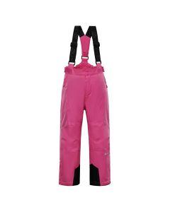 ALPINE PRO otroške smučarske hlače ANIKO 3 PINK