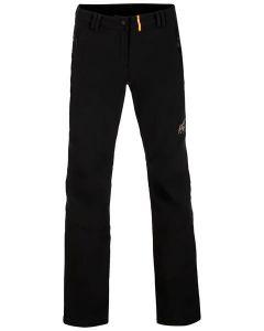 ALPINE PRO ženske pohodne hlače MURIA 3 BLACK