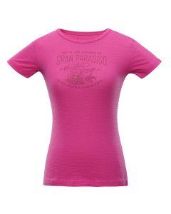 ALPINE PRO ženska kratka majica ALINA PURPLE