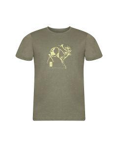 ALPINE PRO moška kratka majica TIBERIO 8 GREY