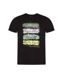 ALPINE PRO moška kratka majica AMIT 7 BLACK