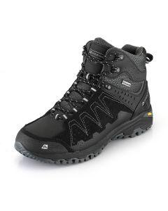 ALPINE PRO moška pohodna obutev BELIAL BLACK